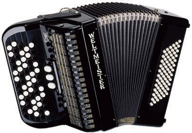 Weltmeister-Model Button accordion - 72